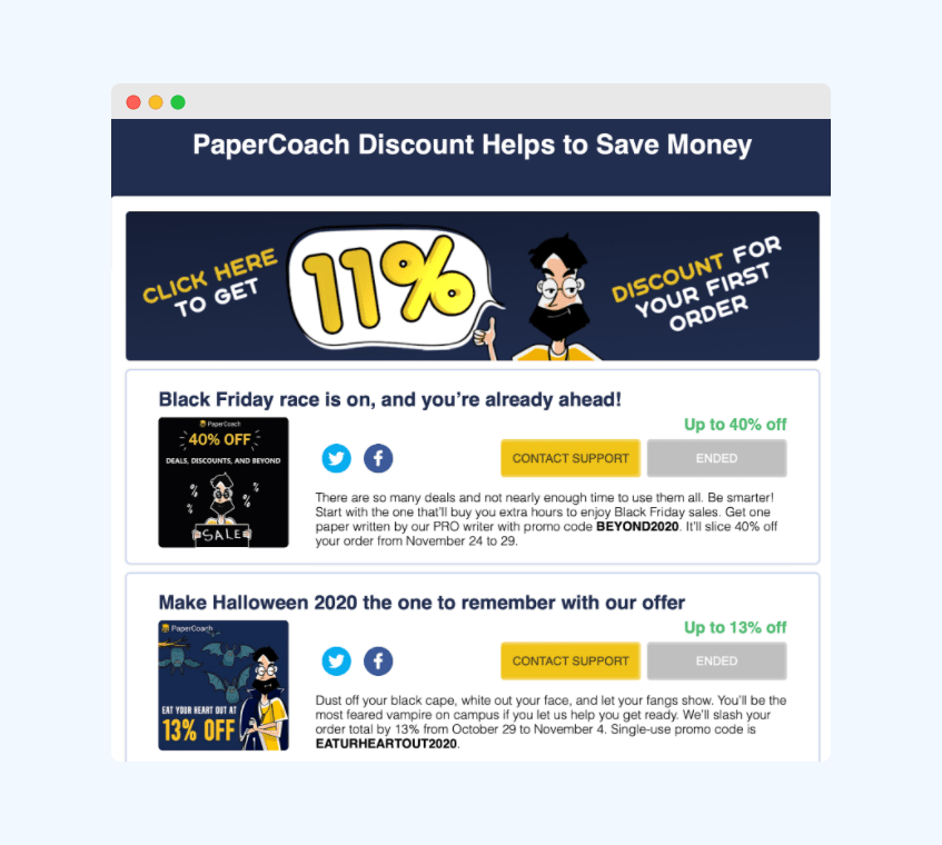 papercoach discount