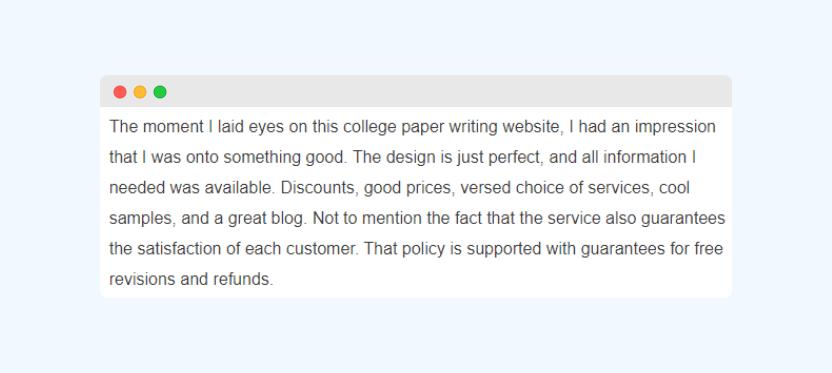 College-paper.org service