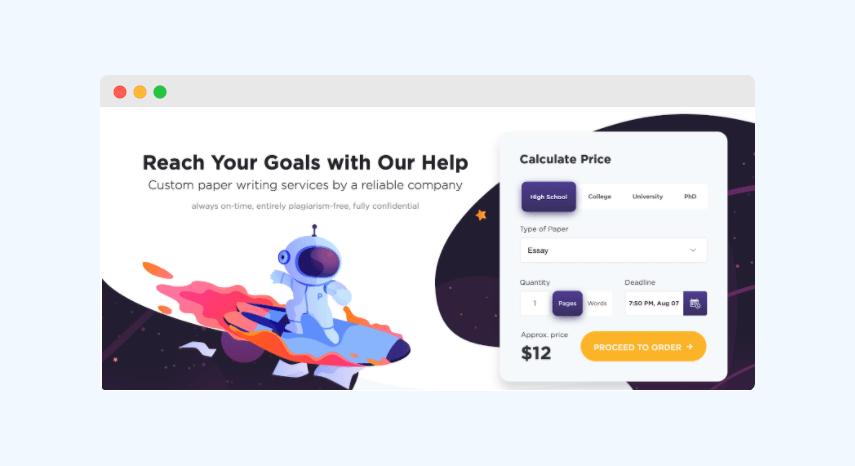 PaperHelp website