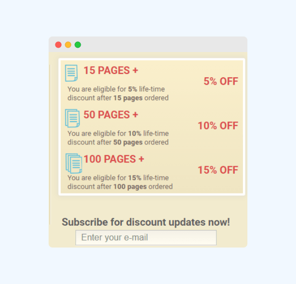 PremierEssay discount