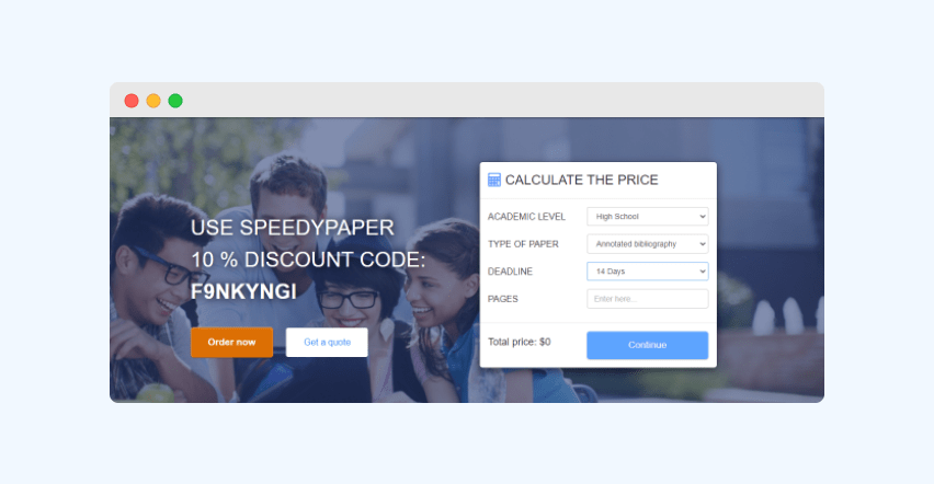 Speedypaper calculator